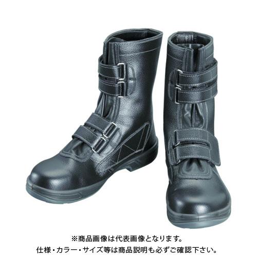 シモン 安全靴 長編上靴マジック式 SS38黒 29.0cm SS38-29.0