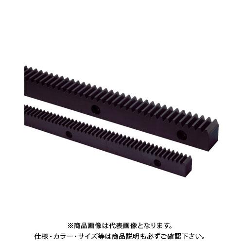 【運賃見積り】【直送品】KHK 取付穴加工ラックSRFD2.5-1000 SRFD2.5-1000
