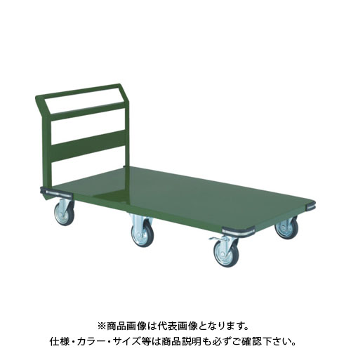 【直送品】TRUSCO 鋼鉄製運搬車 1400X750 プレス6輪車 SSH-1L