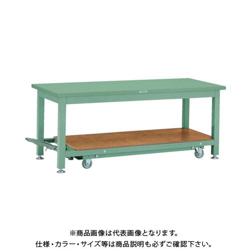 【運賃見積り】【直送品】 TRUSCO STWC型作業台 1500X750XH740 STWC-1500