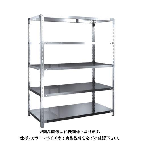 【直送品】 TRUSCO SUS304製軽量棚 1200XD600XH1500 天地5段 SU3-5465
