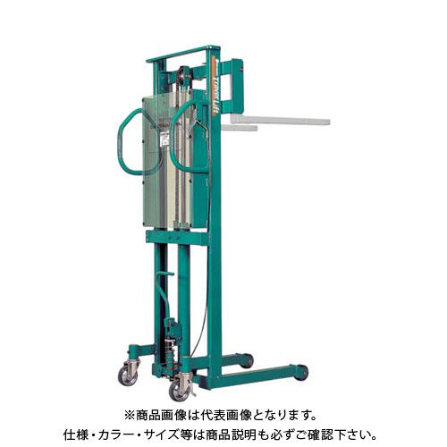 【運賃見積り】【直送品】 ビシャモン トラバーリフト(バッテリー上昇式) ST50E-WN