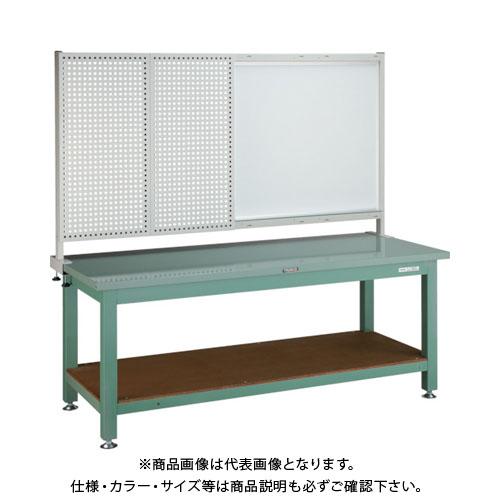 【運賃見積り】【直送品】 TRUSCO STW型作業台 1800X750XH740 前パネル付 STW-1800P1