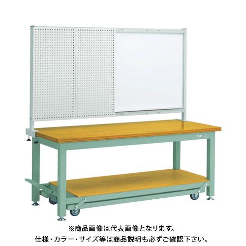 【運賃見積り】【直送品】 TRUSCO STWC型作業台 1500X750XH740 前パネル付 STWC-1500P1