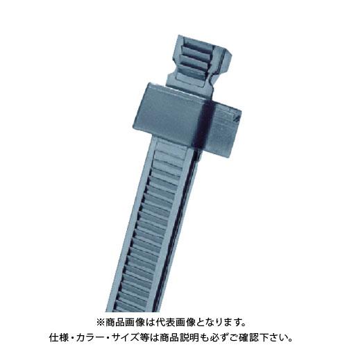 パンドウイット スタストラップ ナイロン結束バンド 耐候性黒 (1000本入) SST2I-M0