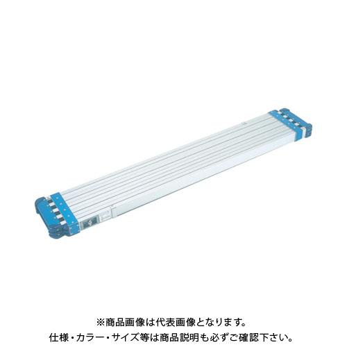 【直送品】ピカ 両面使用型伸縮足場板STKD型 伸長4m STKD-D4023