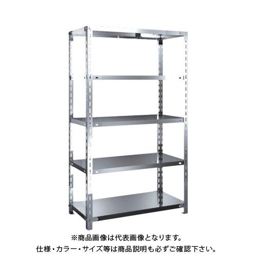 【直送品】 TRUSCO SUS430製軽量棚 875XD450XH1500 天地5段 SU4-5345
