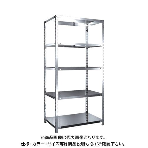 【直送品】 TRUSCO SUS430製軽量棚 875XD600XH1800 天地5段 SU4-6365