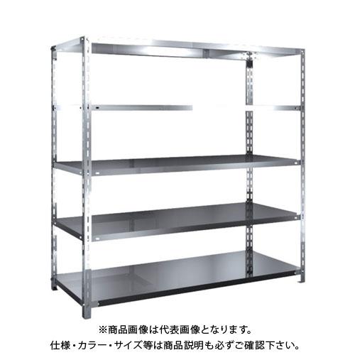 【直送品】 TRUSCO SUS430製軽量棚 1500XD600XH1500 天地5段 SU4-5565
