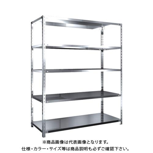 【直送品】 TRUSCO SUS430製軽量棚 1500XD600XH1800 天地5段 SU4-6565