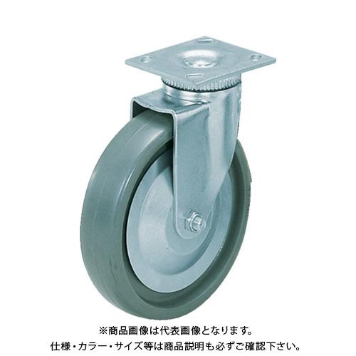 スガツネ工業 重量用キャスター径127自在SE(200-133-381) SUG-31-405-PSE