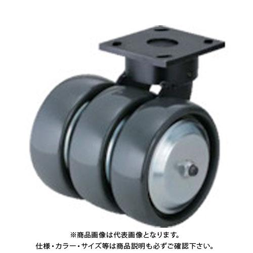 スガツネ工業 ダーコ3輪タイプキャスター(200-025-057) SUG-31-KP3408-PSE