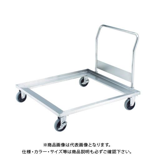 【直送品】TRUSCO オールステンパレットカー 1120X1120 ハンドル付 SUPL-1111H
