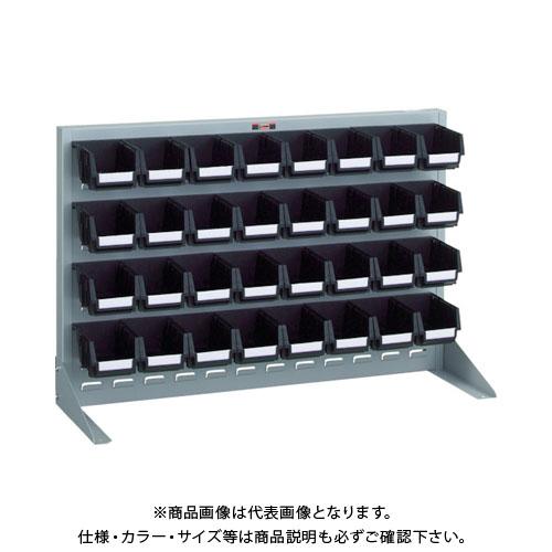 【個別送料1000円】【直送品】 TRUSCO 導電性パネルコンテナラック 卓上型 コンテナ小X32 銀 T-0632N-E:SV