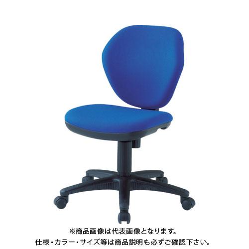 TRUSCO オフィスチェア 青 T-10-B