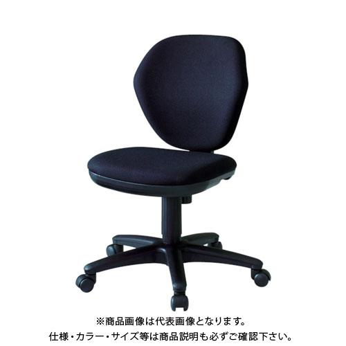 TRUSCO オフィスチェア 黒 T-10-BK