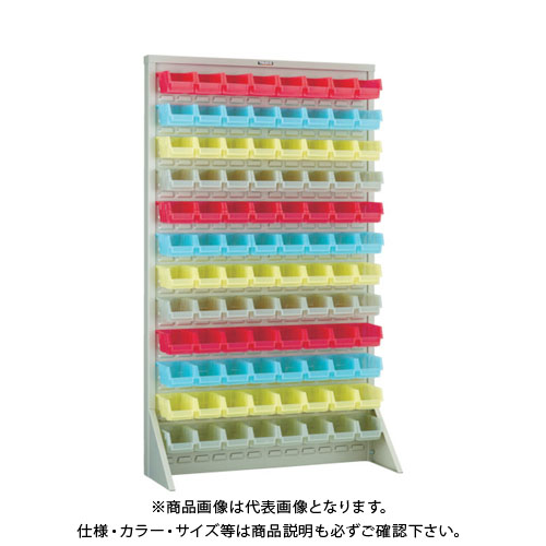 【個別送料1000円】【直送品】 TRUSCO パネルコンテナラック クリアカラー小X96 NG色 T-16128N-SK-NG