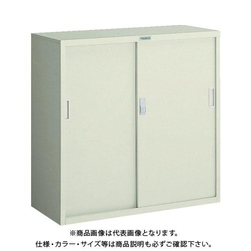 【直送品】 TRUSCO 耐薬品保管庫 スチール引違型 880X400XH880 T-303D