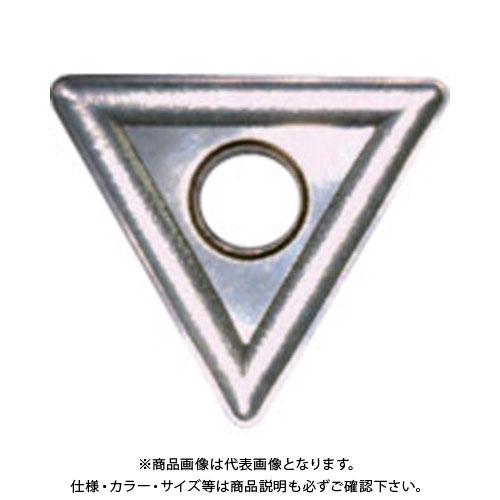 富士元 ショルダー加工用Tタイプ並級チップ 超硬M種 TiN (R) NK3030 12個 T33MOR:NK3030