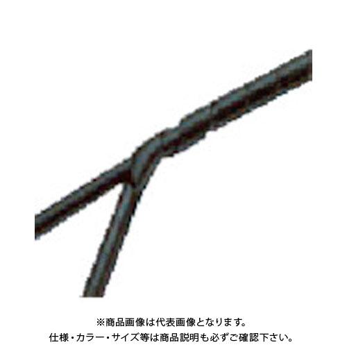 パンドウイット スパイラルラッピング ポリエチレン 耐候性黒 T75F-C0