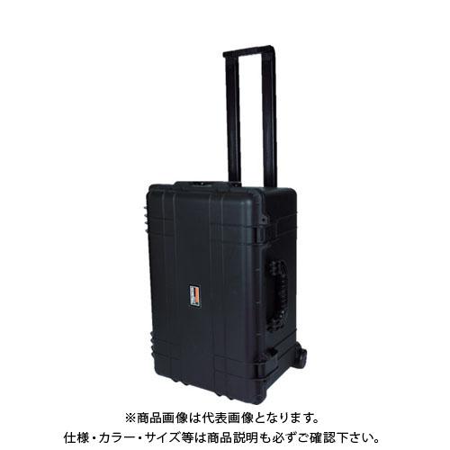 TRUSCO プロテクターツールケース キャスター付 黒 TAK28-T