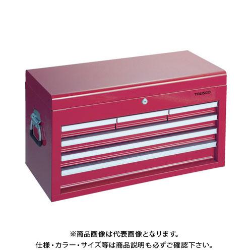 【個別送料1000円】【直送品】TRUSCO キャビネットツールボックス 660X307X378 TCBOX-4R