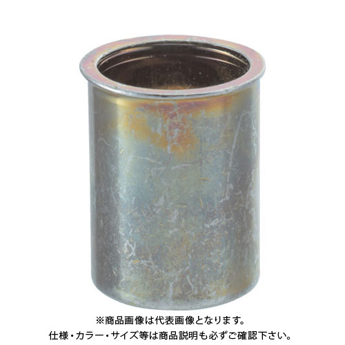 TRUSCO クリンプナット薄頭スチール 板厚1.5 M4X0.7 1000個入 TBNF-4M25S-C