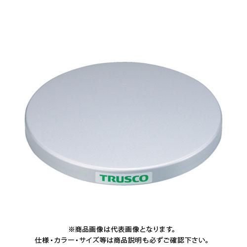 【直送品】 TRUSCO 回転台 100Kg型 Φ600 スチール天板 TC60-10F