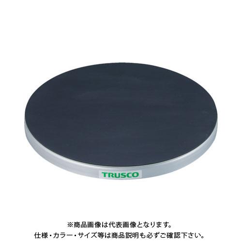【直送品】 TRUSCO 回転台 150Kg型 Φ600 ゴムマット張り天板 TC60-15G
