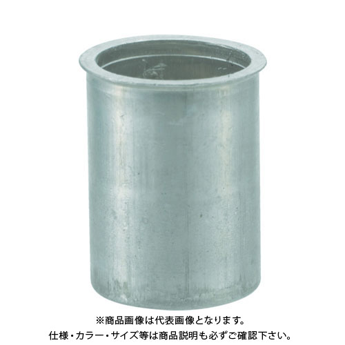TRUSCO クリンプナット薄頭アルミ 板厚3.5 M4X0.7 1000個入 TBNF-4M35A-C