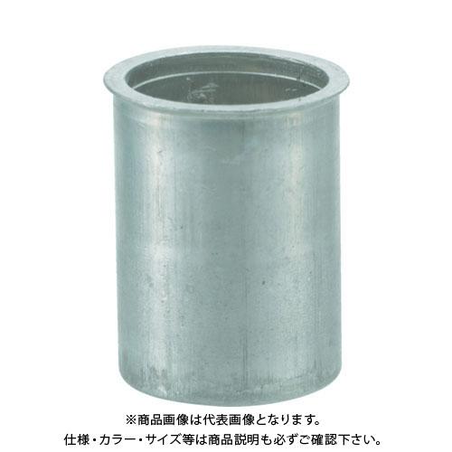 TRUSCO クリンプナット薄頭アルミ 板厚4.0 M6X1 (1000個入) TBNF-6M40A-C