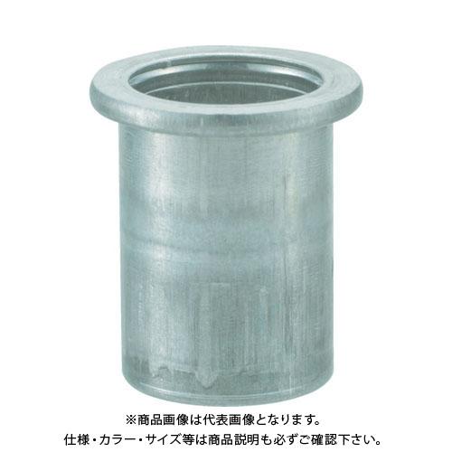 TRUSCO クリンプナット平頭アルミ 板厚1.5 M5X0.8 1000個入 TBN-5M15A-C