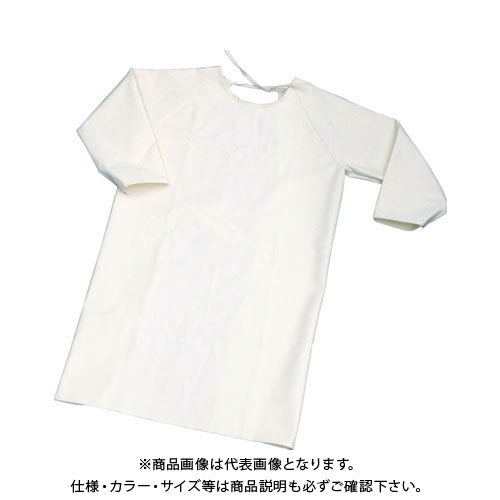 TRUSCO 難燃加工綿保護具 袖付前掛け Lサイズ TBK-SMK-L