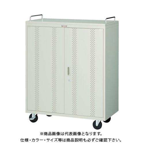 【個別送料2000円】【直送品】 TRUSCO タブレット収納ロッカー 40台用 TBL-40