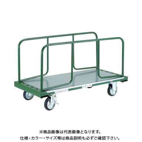 【直送品】TRUSCO 長尺用運搬車 サイドハンドルH600型 1300X602 TDPT-250-62