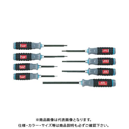 KTC 樹脂柄ヘキサゴンドライバセット[8本組] TD1H8