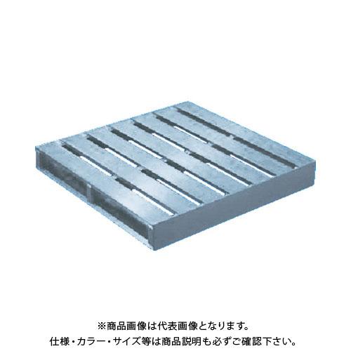 【個別送料1000円】【直送品】 TRUSCO アルミパレット片面二方差型 1100X1100X140 TDBT-1111