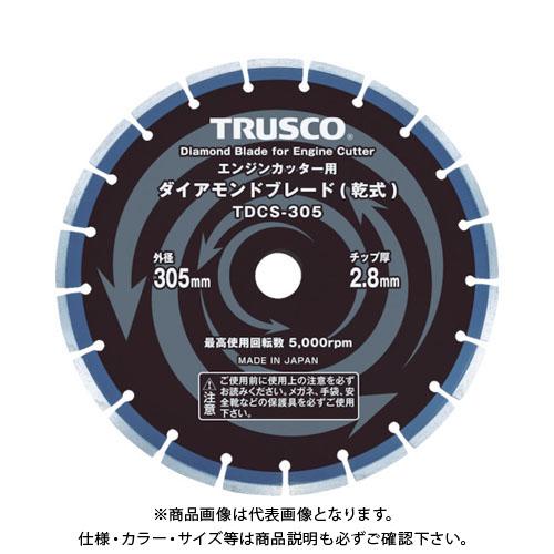 TRUSCO ダイヤモンドブレード 305X2.8TX7WX30.5H TDCS-305