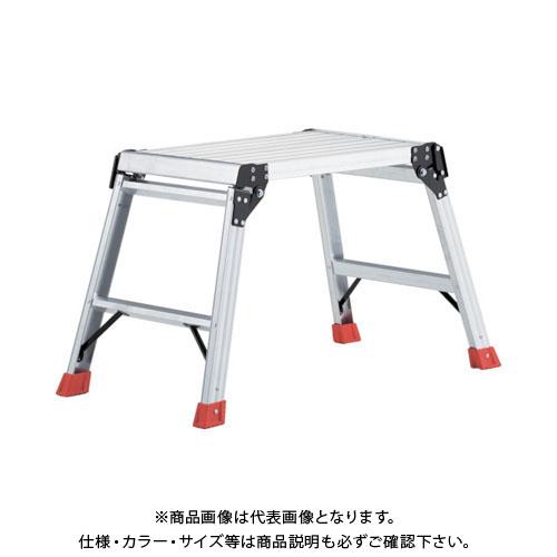 【個別送料1000円】【直送品】 TRUSCO 足場台 アルミ製・プロ用 600X400XH560 TDWT-606