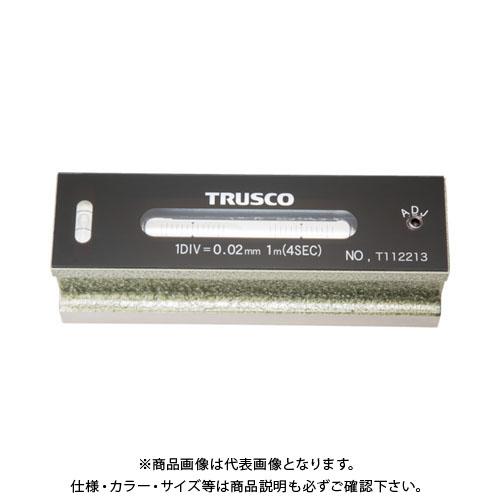 TRUSCO 平形精密水準器 B級 寸法150 感度0.02 TFL-B1502
