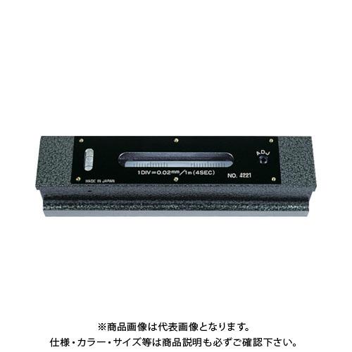 TRUSCO 平形精密水準器 B級 寸法200 感度0.02 TFL-B2002