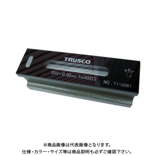 TRUSCO 平形精密水準器 B級 寸法300 感度0.02 TFL-B3002