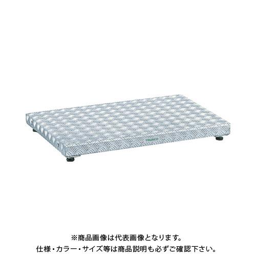 【個別送料1000円】【直送品】TRUSCO 低床式アルミ製ステップ 900X600XH90~120 TFS-0960AL