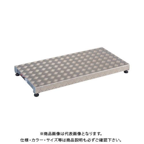 【個別送料1000円】【直送品】TRUSCO 低床用アルミ製ステップ 900X450XH90~120 TFS-0945AL