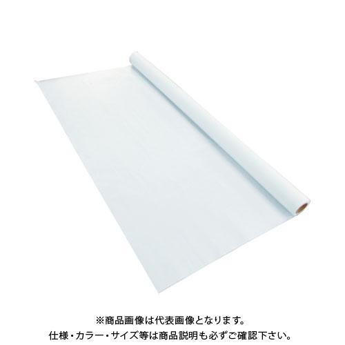 【運賃見積り】【直送品】TRUSCO 不燃認定両面塩ビコーティングシート 204cmX1m TFREC-20401