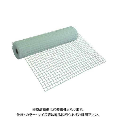 【運賃見積り】【直送品】 TRUSCO 多目的樹脂ネット ホワイト1mX10m 目合35mmX34mm T-H08PB