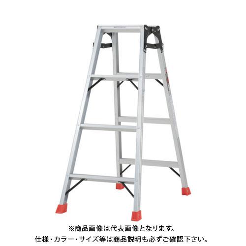 【個別送料1000円】【直送品】 TRUSCO はしご兼用脚立 アルミ合金製・脚カバー付 高さ1.11m THK-120