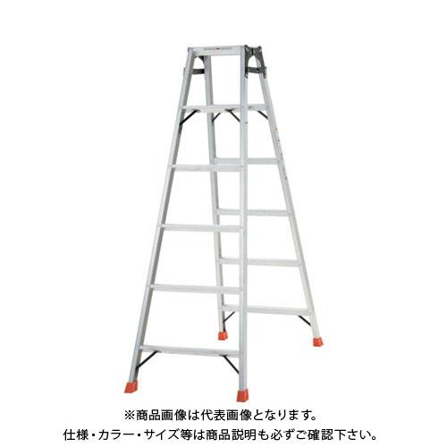 【個別送料1000円】【直送品】 TRUSCO はしご兼用脚立 アルミ合金製・脚カバー付 高さ1.69m THK-180