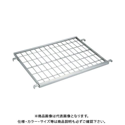 【直送品】TRUSCO ステンレスハイテナー用中間棚板 800X600 メッシュタイプ THT-1MS