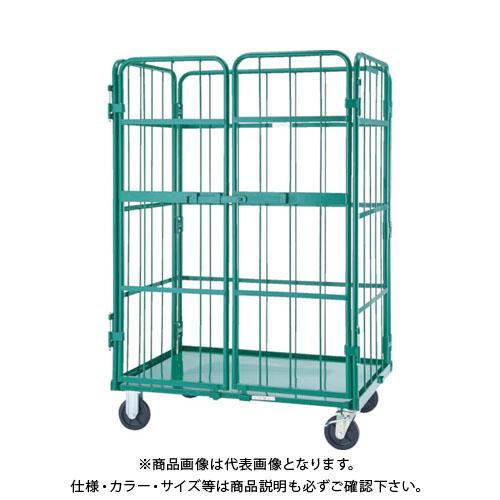 【直送品】TRUSCO ハイテナ- 観音扉付 1100X800X1700 直進仕様 THT-5AK